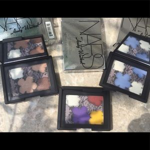 NIB ALL 3 NARS COLLECTION Andy Worhol Flowers 💐